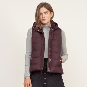 Abercrombie & Fitch Puffer Down Vest