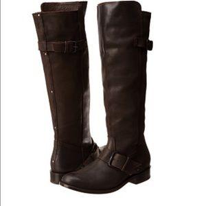 Dolce Vita Lucianna Dark Brown Leather Boots