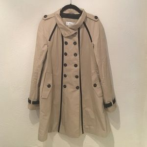 MANGO Suit Trench Coat