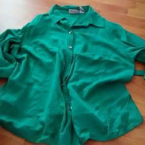 Petite large blouse