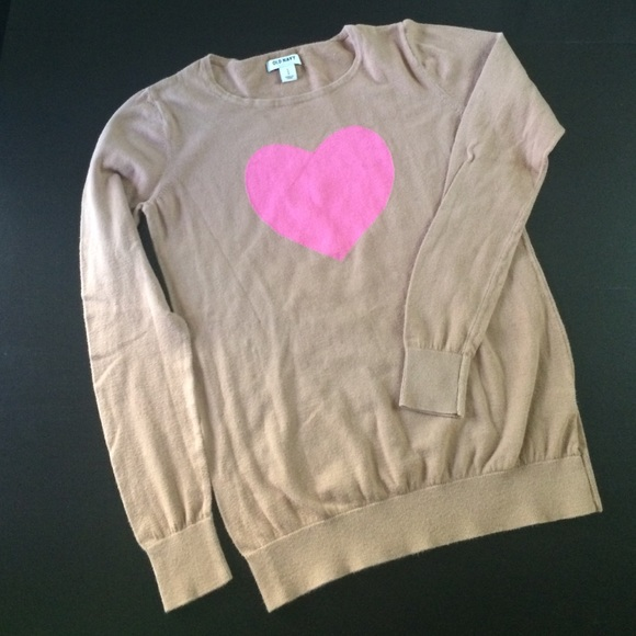 47% off Old Navy Sweaters - Old Navy heart sweater from Becky's ...