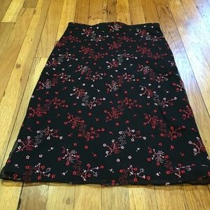 Beautiful embroidered skirt