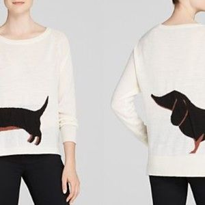 French Connection Sweaters - French Connection Dachshund Sweater