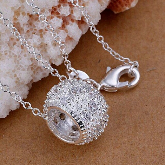 Jewelry sterling silver harmony ball necklace poshmark sterling silver harmony ball necklace aloadofball Image collections