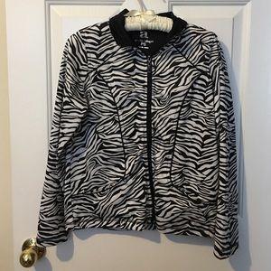activology Jackets & Blazers - activology zebra jacket