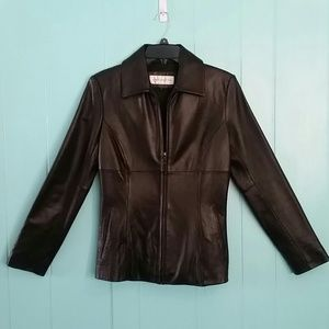 Jones New York Jackets & Blazers - GUC Jones New York Leather Jacket