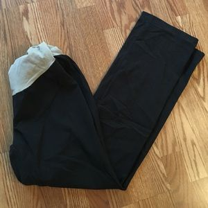 Dark grey maternity dress pants