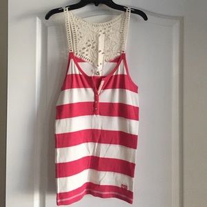 Ruehl No. 925 Tops - Ruehl Striped Tank Top