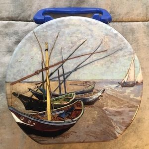 1a585009fa Accessories - Van Gogh inspired sailboat metal lunchbox 💕⛵️