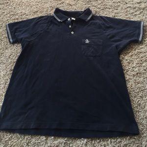 Original Penguin Other - Men's Penguin polo shirt navy blue short sleeve L