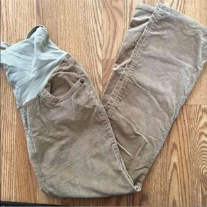 Pants - Full panel corduroys maternity size medium