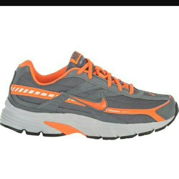 96257a57bcc0c Nike INITIATOR Shoes Orange Gray ~ Lightly Used. M 581f99974127d06b0f07f6e8