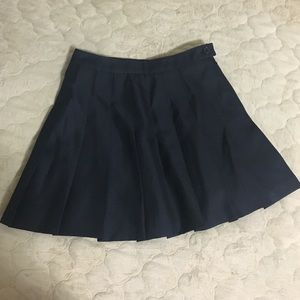 Forever 21 Black Pleated Skirt Size XS but like S