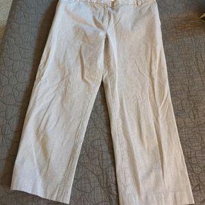 Liz Claiborne Pants - Liz Claiborne Pinstriped Capris