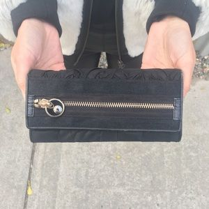 Henri Bendel Black Wallet