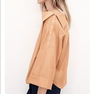 Zara Join Life Boatneck Shirt