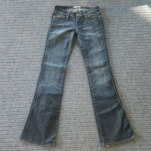 DPD boot cut jeans sz 25 Deluxe Premium Denim