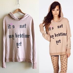 Wildfox | Not My Bedtime Gypsy Hoodie