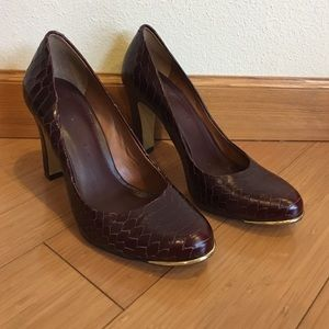 Banana Republic Oxblood pumps
