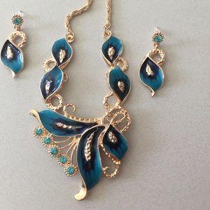 Jewelry - Australian Crystal jewelry set