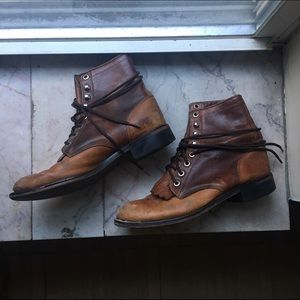 Shoes - Vintage Ariat Ankle Boots
