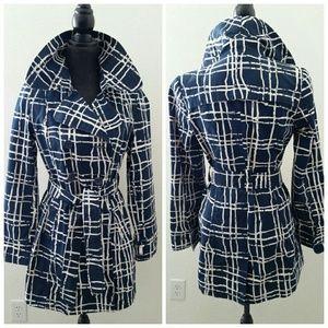 Blue Merona Trench Coat