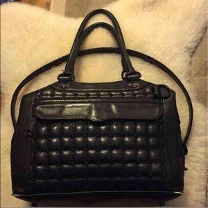 Rebecca Minkoff Quilted Satchel Shoulder Bag