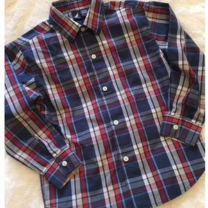 Nautica Other - Boy's Nautica Plaid L/S Button Up