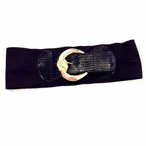 American Vintage Accessories - Vintage Black & Gold Belt