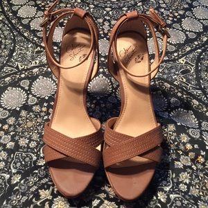 Colin Stuart Platform Sandals