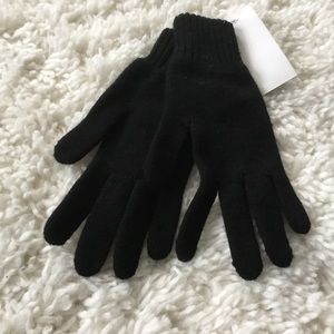 PRICE FIRM - black gloves