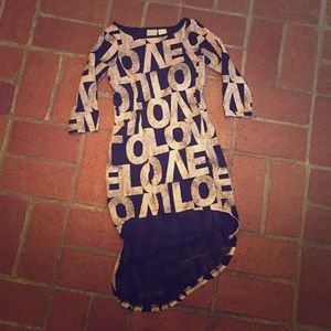 Other - Girls Disney D-Signed LOVE Dress. Size M. Fits S.