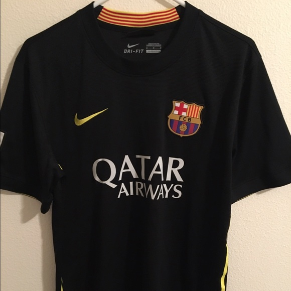 Nike Other Nike Drifit Fc Barcelona Qatar Airways Jersey Poshmark