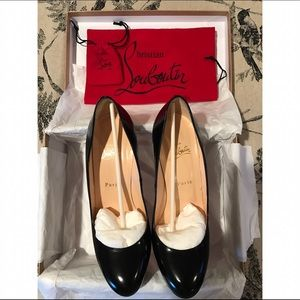 Christian Louboutin Bianca 140 Jazz Calf Black