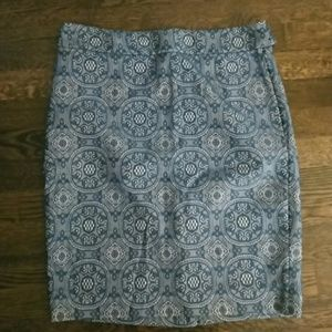 The Limited Dresses & Skirts - Nwot! Blue lace pencil skirt.