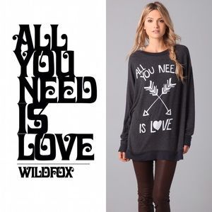 Wildfox | All You Need is Love Roadtrip Jumper