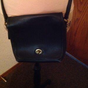 Coach Bags - Vintage Coach Black Crossbody Purse