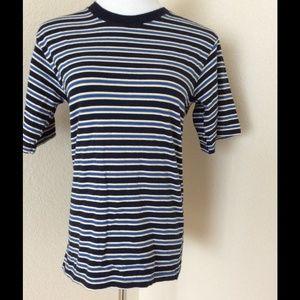 😍4/$15 Big Boys T shirt  soft knit cotton striped