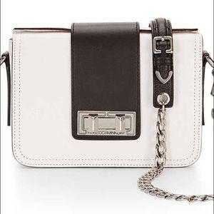 Rebecca Minkoff Handbags - Rebecca Minkoff Black & White Leather Crossbody