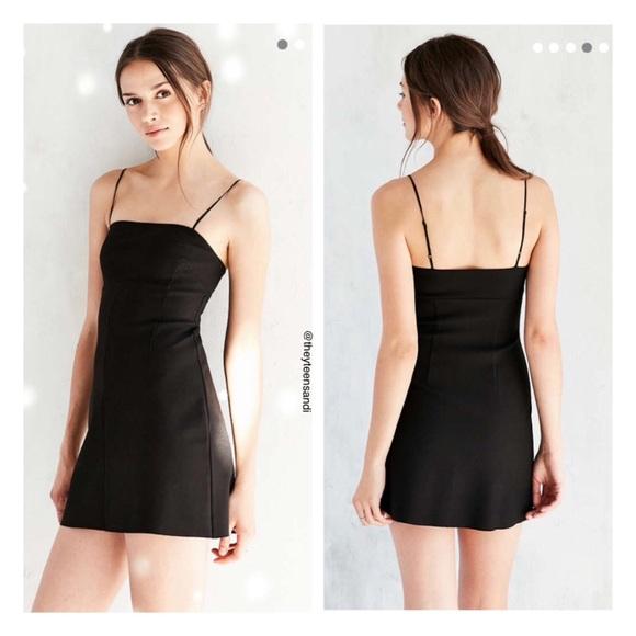 c6aca809c Urban Outfitters Dresses | Audrey Ponte Aline Black Dress | Poshmark