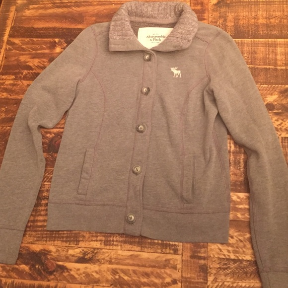 3dec3e4a0bd Abercrombie   Fitch Jackets   Blazers - Abercrombie   Fitch fleece bomber  jacket