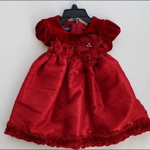 Isobella & Chloe Other - Red baby holiday dress