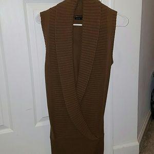 Bcbg long sweater vest