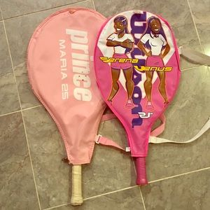 """Prince Other - 🎾TWO KIDS TENNIS RACKETS! """"PRINCE"""" AND """"WILSON""""!!"""