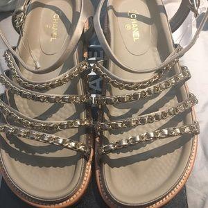 6971d02f4d7d CHANEL Shoes - Chanel Spring 2015 Chain Sandals