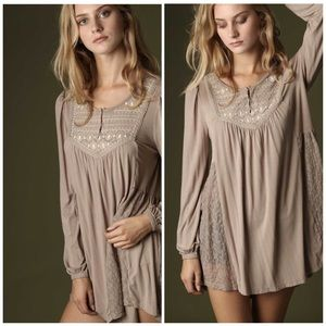 Long Embroidered Tunic / Dress