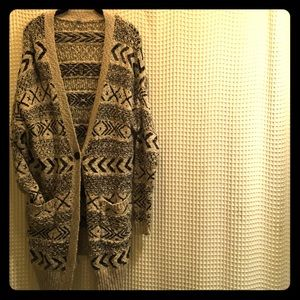 Ecote // Urban Outfitters Sweater Aztec Cardigan