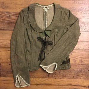 Free People Jackets & Blazers - Free People denim blazer size medium