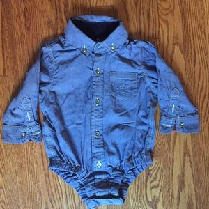 Andy & Evan Other - Boys' Andy & Evan denim top...Size 6-12 months