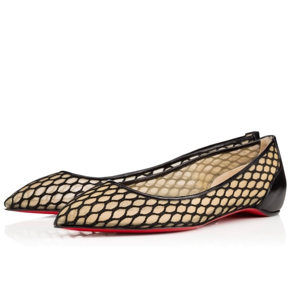 2833aeeacf8 Christian Louboutin Shoes - Christian Louboutin Pigaresille Flat 39